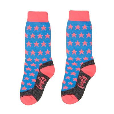 Stars blue pink