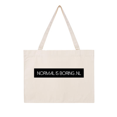Normal is Boring shopping bag
