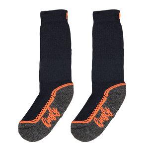 crew sock black